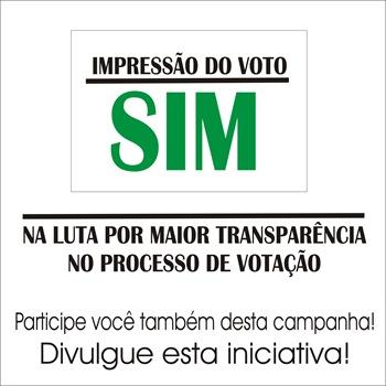 Impressão do voto