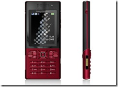 10172111-sony-ericsson-t700-red