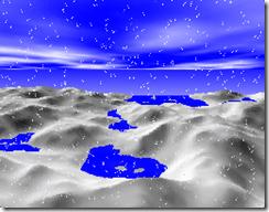 Realtime voxel landscape rendering, v1.0