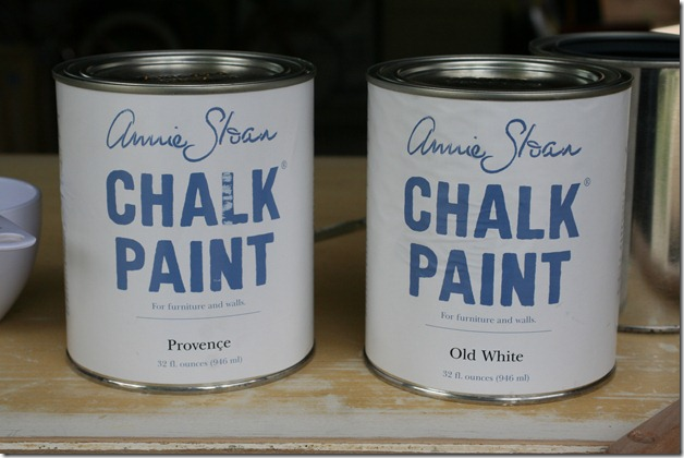 painting with Annie Sloan Chalk Paint (3)