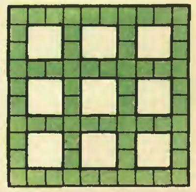 Головоломка на разрезание: Разрежьте фигуру и сложите квадрат