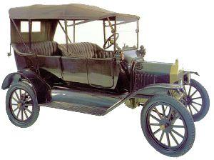 Автомобиль Форд Т, 1916 год