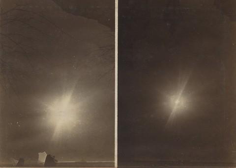 Любительская фотография Солнечного затмение 4 апреля 1912 г.