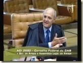 STF. Ministro Menezes Direito. Princípio da Simetria. Procurador Geral do Estado e Advogado Geral da União.