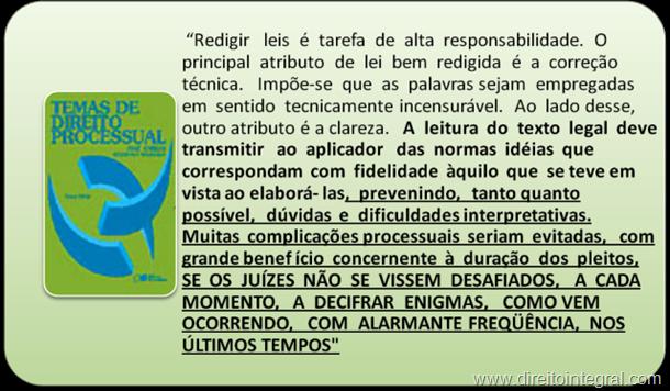 José Carlos Barbosa Moreira. Temas de Direito Processual.