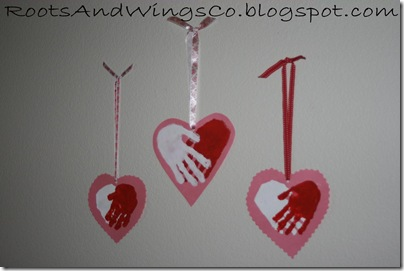valentine heart handprint 6