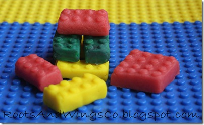 kool aid playdough legos 1
