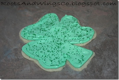 st patricks day cookie cutter i