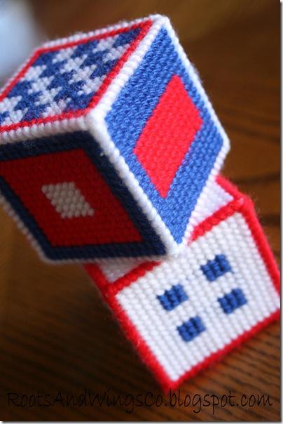 Stitched Canvas Infant Blocks 4