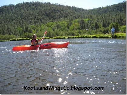 Katrina Kayaking