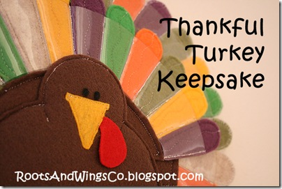 Thankful Turkey Keepsake