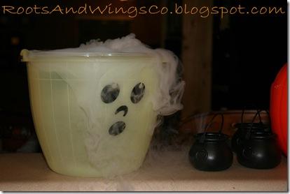 halloween party dry ice bucket