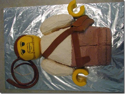 Indiana Jones Cake