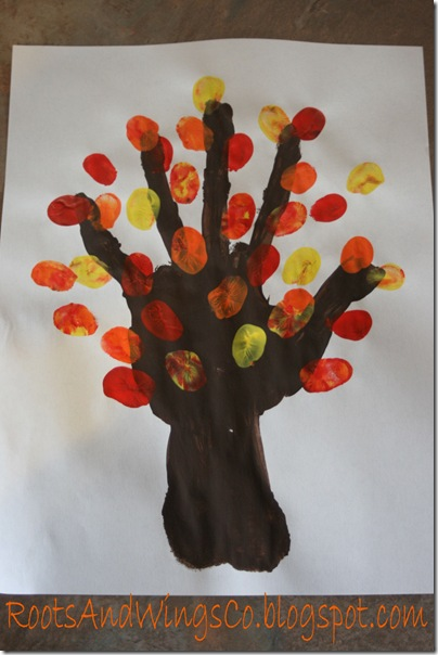 thanksgiving finger painting preschool activity f