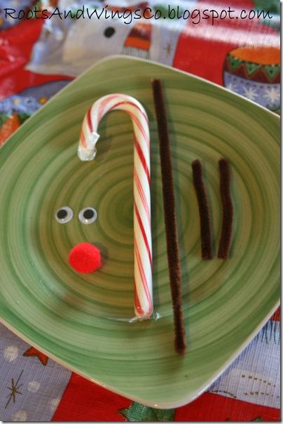 rudolf reindeer candy cane d