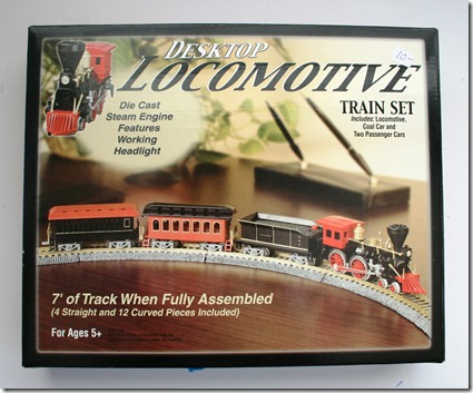 Desktop Train Set - 5