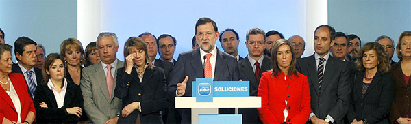 Rajoy Last Supper