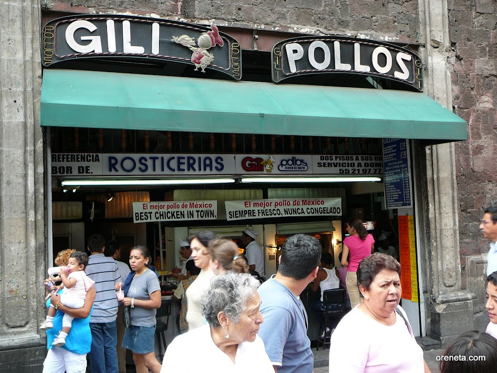 <a href='http://gilipollos.com/'>Gilipollos</a>, the famous chicken bar in Mexico City. Photo: Trevor.