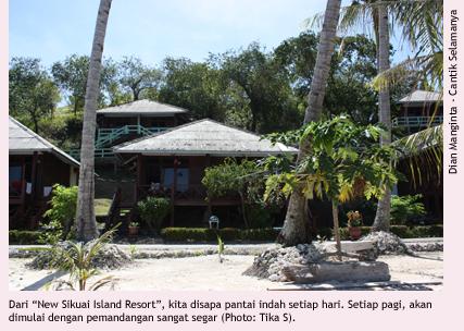 Indahnya Pulau Sikuai, Sumatera Barat