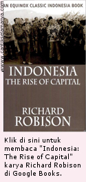 Indonesia: The Rise of Capital