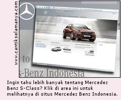 Mercedes Benz Indonesia - S Saloon