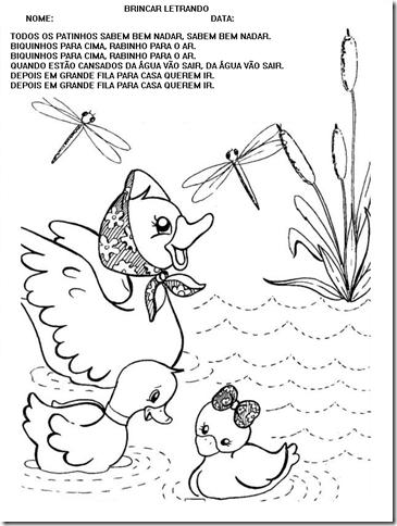 TODOS OS PATINHOS (CORES E FORMAS)