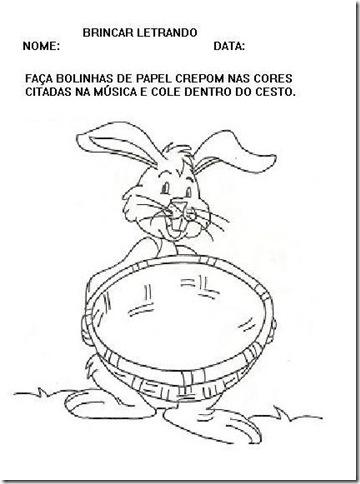 coelhinho COM O CESTO