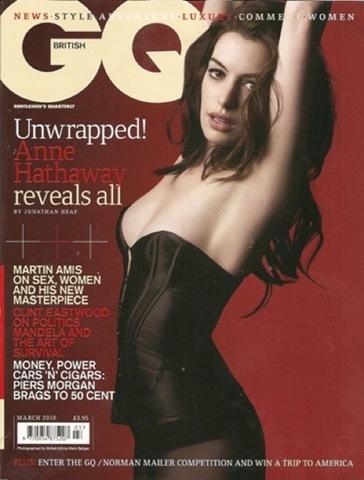 Anne Hathaway on British Vogue. Feb 9, 2010 Author: Katie Lara | Filed