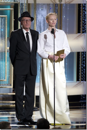 Tilda Swinton 2011 Golden Globes 2011 Golden Globes: Worst Dressed List