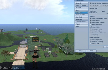 Second Life 1.22.11 (Linux)