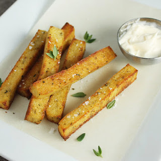 Herbed Polenta Fries