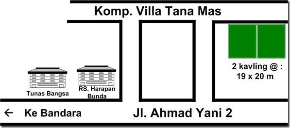 8. Tanah Villa Tana Mas