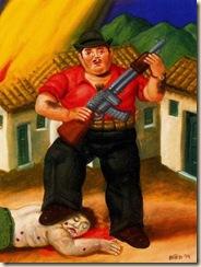 Índice de biografías - Fernando Botero - El cazador