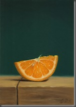 orange-half-wheel-oil-painting