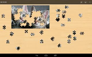 Screenshot of Animals Jigsaw Puzzles