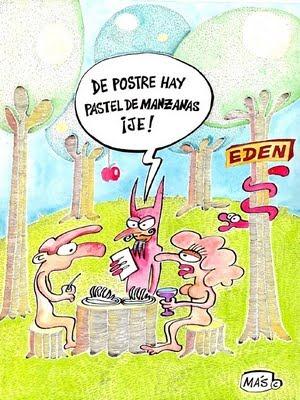ADAN Y EVA Humorgraficoreligioso113