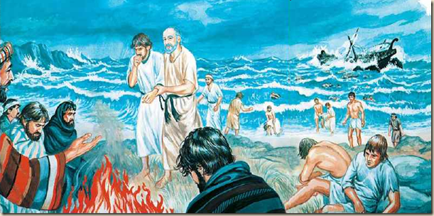 pablo naufragio ateismo