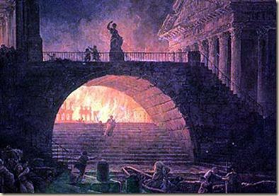 incendio roma ateismo
