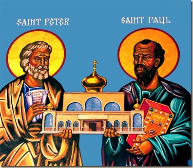 STS. PETER AND PAUL atheism