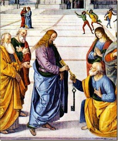 Jesus_da_llaves_a_Pedro ateismo