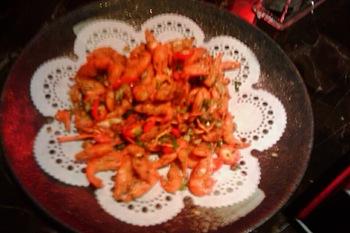 台中燒酒雞 鹽酥溪蝦