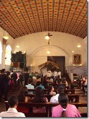 Interior Iglesia de Belén