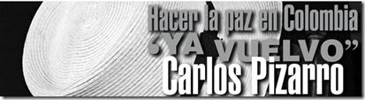 Ya Vuelvo. Carlos Pizarro