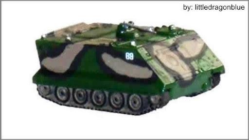 Blindado Transporte Pessoal - M-113 A1/A2