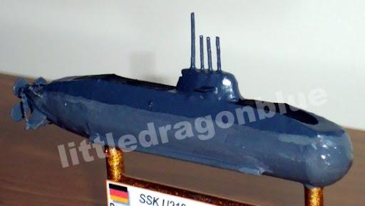 Submarino de ataque (SSK) U212 - U34