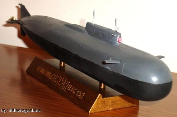 Submarino Nuclear - SSGN Kursk (K-141)