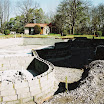 Construction de la piscine