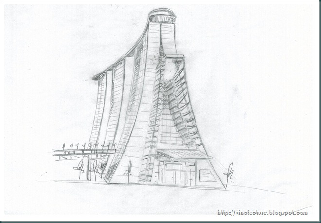 Vinct architecture january 2011 for Marina bay sands architecture concept