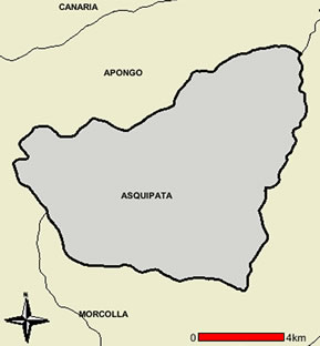 MAPA DEL DISTRITO DE ASQUIPATA
