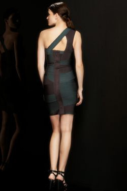 HERVE LEGER KNIT in Dark Teal